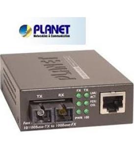 GT-805A CONV.MIDIA PLANET 10/100/1000 SFP SX LX