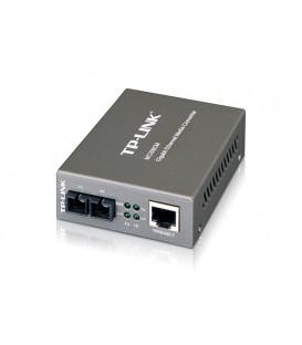 Conversor de Mídia Gigabit de modo único MC210CS