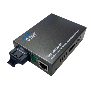 CONVERSOR DE MIDIA 10/100MBPS SM SC DNET  DN-8800-S20