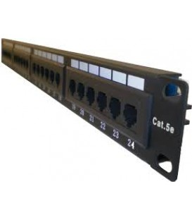 PATCH PANEL 24 PORTAS  RJ45 CAT.6